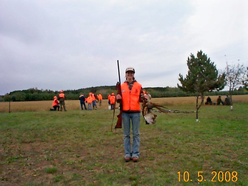successful hunter with pheasant